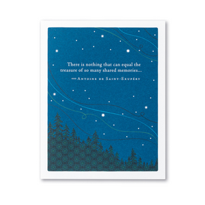 Positively Green Greeting Card - There is nothing that can equal...
