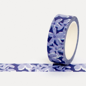 U Studio Washi Tape - Blue Bloom