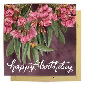 La La Land Greeting Card - Blossoming Native Neutrals