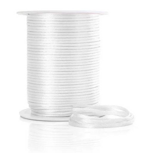 Cord:  2mm China Knot - White (per metre)