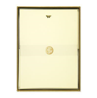 Letter Set - Gold Butterfly