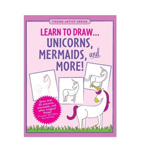 Learn to Draw - Unicorns, Mermaids & More