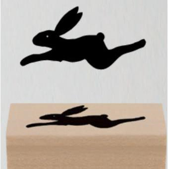 East of India Rubber Stamp - Rabbit