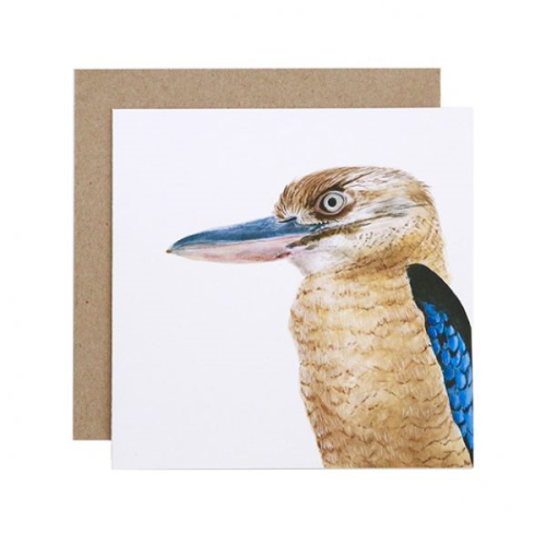 Kenny the Kookaburra Greeting Card | For Me By Dee | Paperpoint Stationery South Melbourne