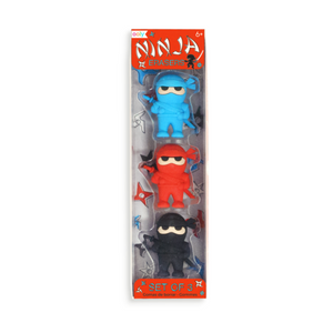Ninja Erasers Pack of 3 | Ooly | Paperpoint Stationery South Melbourne