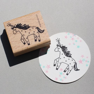 Perlenfischer Stamp - Unicorn | Perlenfischer | Paperpoint Stationery South Melbourne