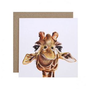 Toby the Giraffe Greeting Card | For Me By Dee | Paperpoint Stationery South Melbourne