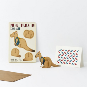 Pop Out Card - Kangaroo