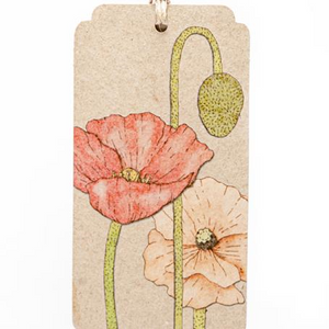 Seeds Gift Tag - Poppy | Sow n Sow | Paperpoint Stationery South Melbourne