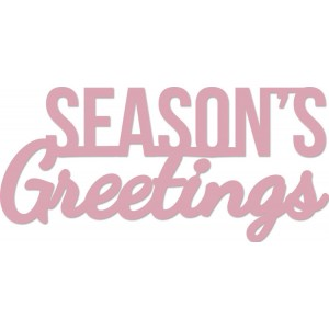 Kaisercraft Decor Die - Season's Greetings