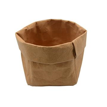 Washable Paper Sack Tan - Small