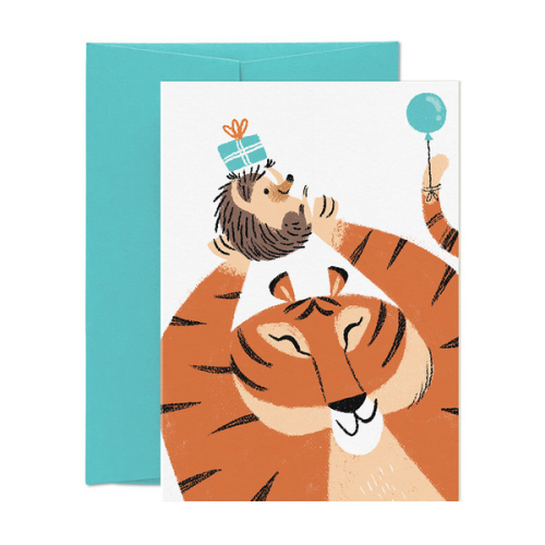 Card Nest Greeting Card - Roarsome Birthday