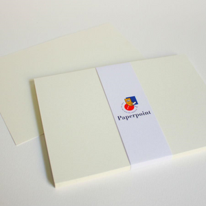 Blank Note Cards - 125 x 175mm, Flat, Cream | Paperpoint | Paperpoint Stationery South Melbourne