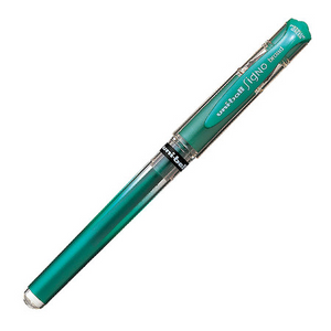 Uni-ball Signo Gel Ink Pen, 1.0mm Broad, Metallic Green | Uni-ball | Paperpoint Stationery South Melbourne