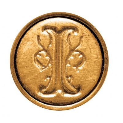 Ceramic Mini Wax Seal 'I' | Manuscript | Paperpoint Stationery South Melbourne