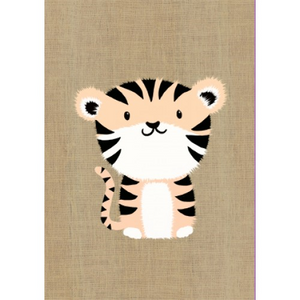 Gillian Mary Greeting Card - Super Cute Tiger | Gillian Mary | Paperpoint Stationery South Melbourne