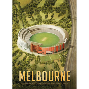 Harper & Charlie Postcard - Melbourne Cricket Ground / Cricket