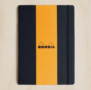 Rhodia WebNotebook - Grid, A4, Black | Rhodia | Paperpoint Stationery South Melbourne