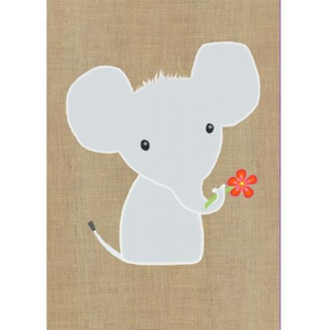 Gillian Mary Greeting Card - Super Cute Elephant | Gillian Mary | Paperpoint Stationery South Melbourne