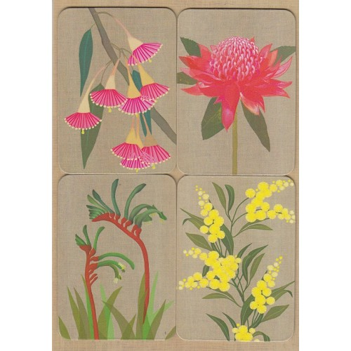 GM Card - Magnet Set, Australian Flowers | Gillian Mary | Paperpoint Stationery South Melbourne