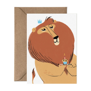Card Nest Greeting Card - Roaring Birthday