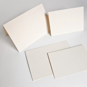 Blank Note Cards - 125 x 175mm, Folded, Environment Tortilla | Paperpoint | Paperpoint Stationery South Melbourne
