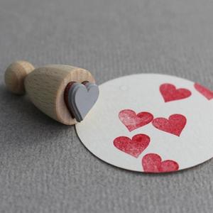 Perlenfischer Cone Stamp - Heart | Perlenfischer | Paperpoint Stationery South Melbourne