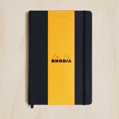Rhodia WebNotebook - Plain, A5, Black | Rhodia | Paperpoint Stationery South Melbourne