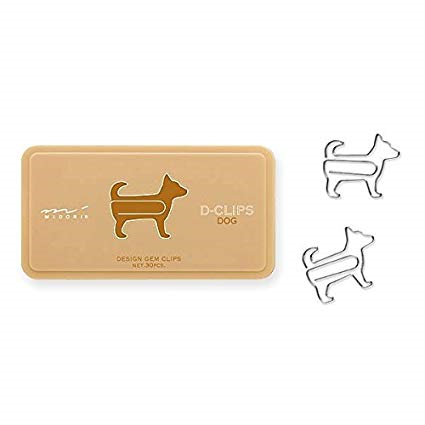 D-Clip Pack Dog | Midori | Paperpoint Stationery South Melbourne