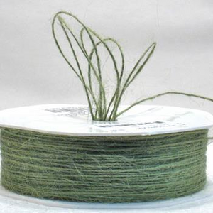 Jute Cord - Avocado (1mm x 100mtr)