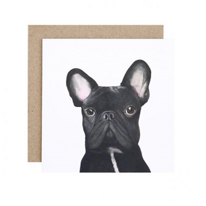 Gilbert the French Bulldog Greeting Card | For Me By Dee | Paperpoint Stationery South Melbourne