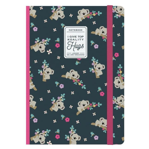 Legami Photo Notebook - Ruled, Medium, Koality Hugs