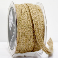 Ribbon: 10mm Jute Tape - Natural (per metre)