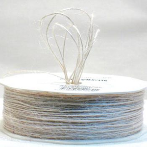 Jute Cord - Light Natural (1mm x 100mtr)