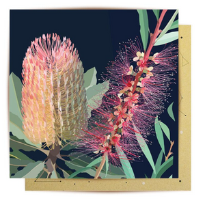 La La Land Greeting Card - Lovely Grevillia