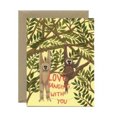 Yeppie Paper Greeting Card - Hanging with You