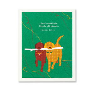 PG Card - There's No Friends Like... | Positively Green | Paperpoint Stationery South Melbourne