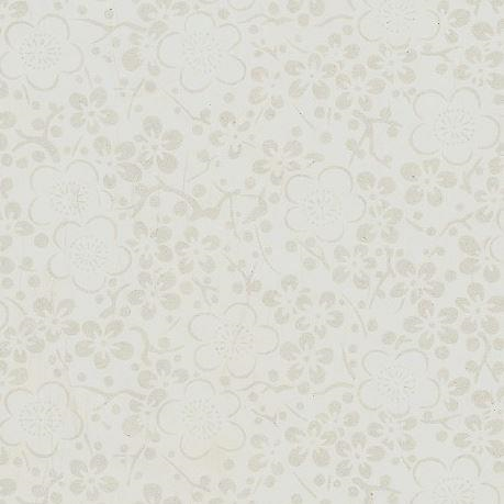 A4 (210 x 297mm) Chiyogami Paper - Gold Blossoms on White Background | Chiyogami Paper | Paperpoint Stationery South Melbourne