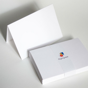 Blank Note Cards - 125 x 175mm, Folded, White | Paperpoint | Paperpoint Stationery South Melbourne