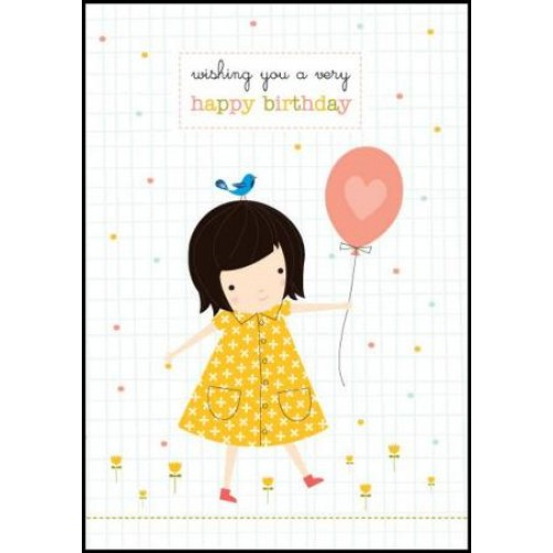 Little Red Owl Greeting Card - Millie Mae Birthday | Little Red Owl | Paperpoint Stationery South Melbourne