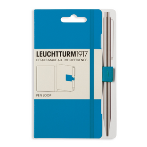 Leuchtturm1917 Pen Loop (Elastic Pen Holder) - Azure | Leuchtturm1917 | Paperpoint Stationery South Melbourne