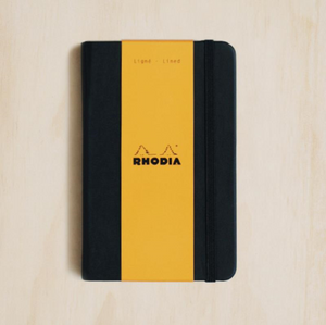 Rhodia WebNotebook - Ruled, A6, Black | Rhodia | Paperpoint Stationery South Melbourne