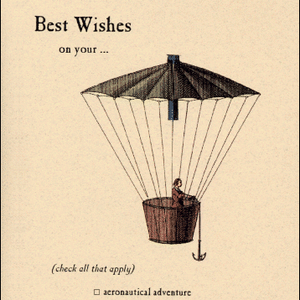 Archelaus Best Wishes on your... Aeronautical Adventure | Archelaus | Paperpoint Stationery South Melbourne