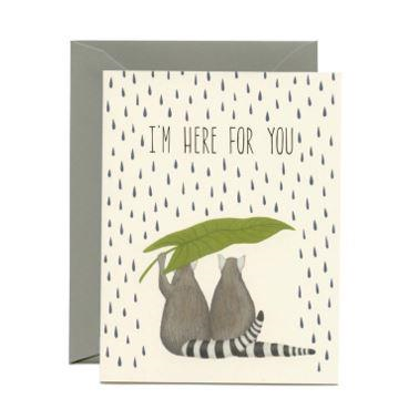 Yeppie Paper Greeting Card - Lemurs