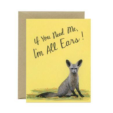 Yeppie Paper Greeting Card - All Ears