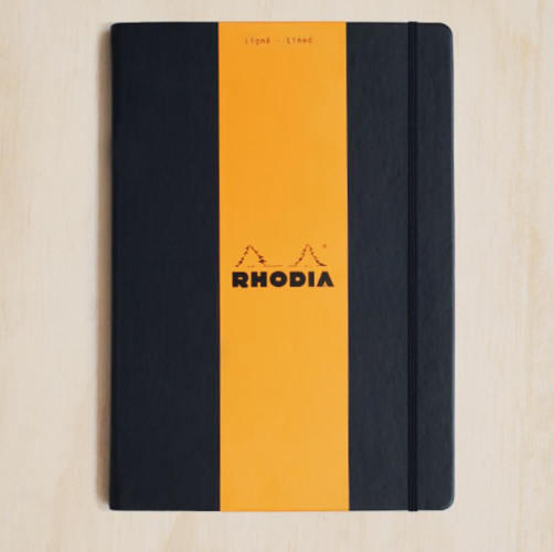 Rhodia WebNotebook - Ruled, A4, Black | Rhodia | Paperpoint Stationery South Melbourne