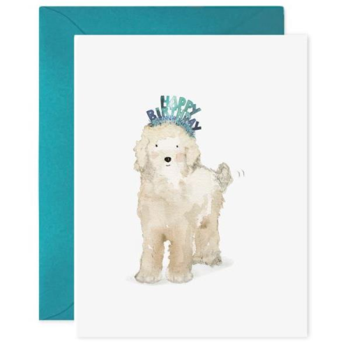 E Frances Greeting Card - Birthday Dog