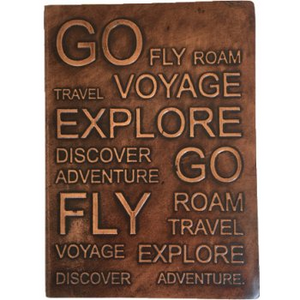 Nero Leather Journal - Go Fly Travel Journal