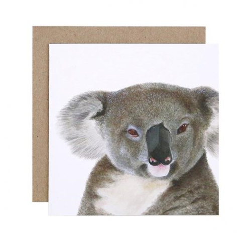 Kev the Koala Greeting Card | For Me By Dee | Paperpoint Stationery South Melbourne