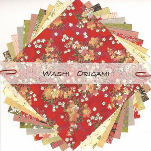 Origami Paper Pack - Kozo/Plain Mix, 150mm Square | Washi Craft | Paperpoint Stationery South Melbourne